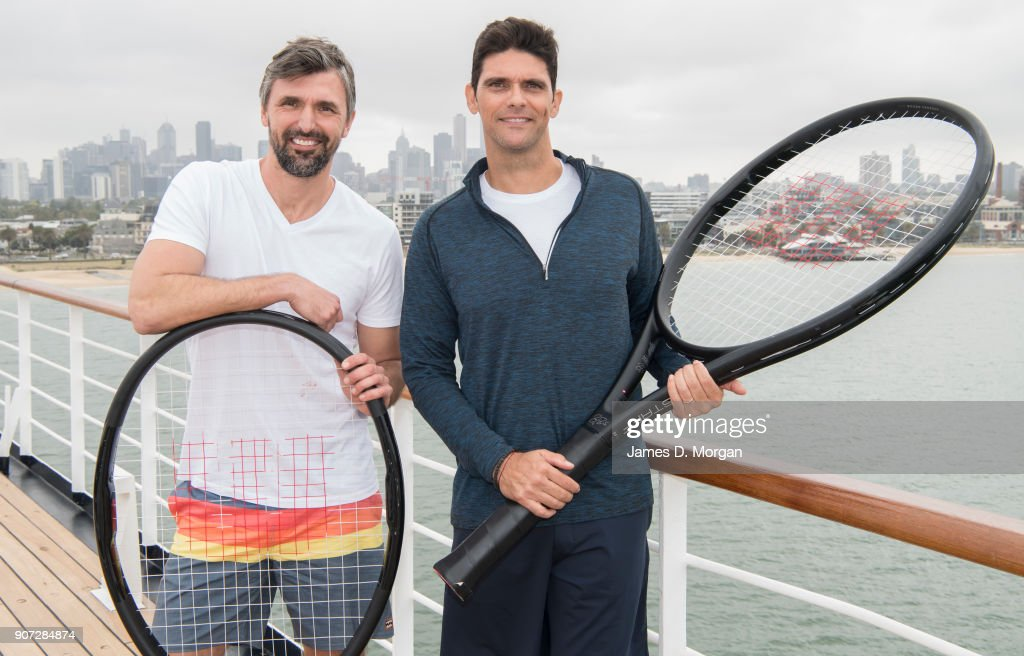 Australian Open Tennis Legends Tournament On P&O Cruises' Pacific Eden