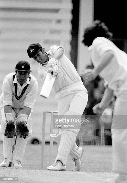 Australian opening batsman Rick McCosker batting during the first innings of the touring match against Northamptonshire at the County Ground in...