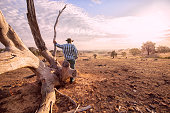 Australian Outback Farmer
