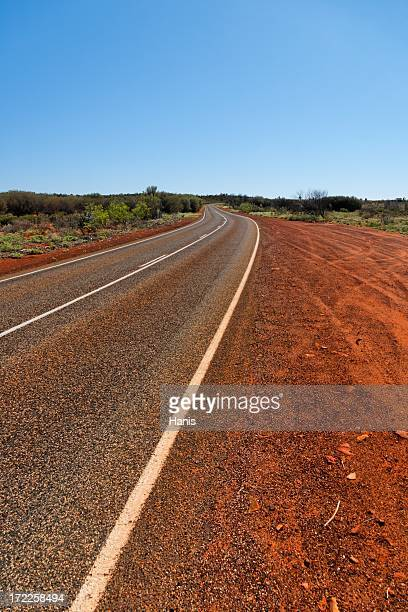 L'outback australien road