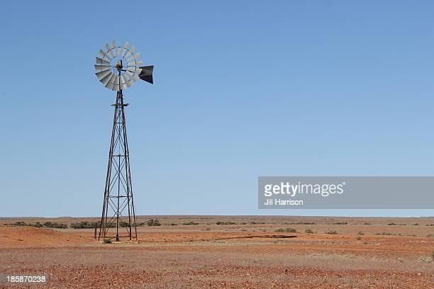Australian outback windmill
