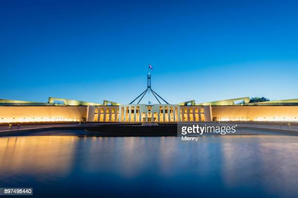 Australian Parliament House Canberra at Night