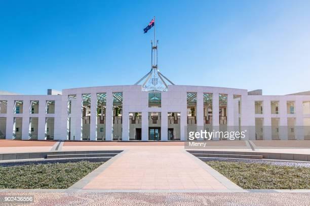 maison de parlement australien canberra australie - canberra photos et images de collection