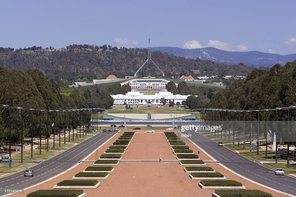 Australian Parliament House Stock Photo - Getty Images