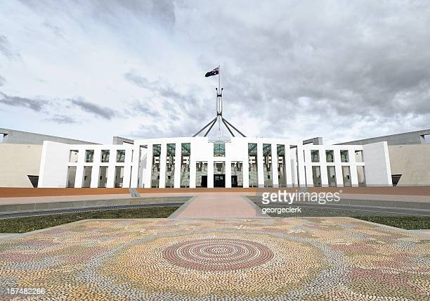 australian parliament - parliament building stock pictures, royalty-free photos & images