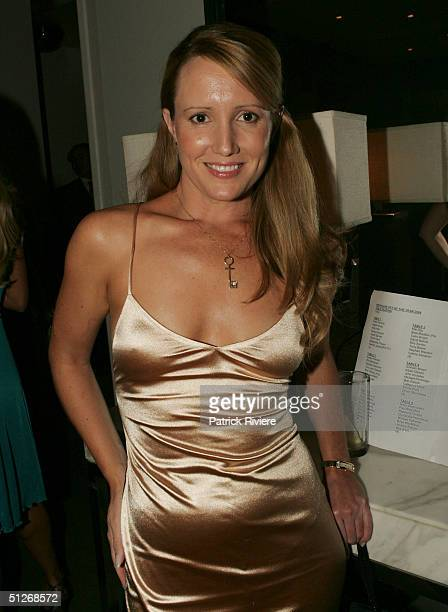 Australian Penthouse Pet Of The Year 1991 Kelly Hall attends the announcement of the 2004 Australian Penthouse Pet Of The Year for the 25th...