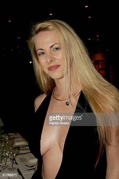 Australian Penthouse Pet Of The Year 2000 Bree Maddox attends the announcement of the 2004 Australian Penthouse Pet Of The Year for the 25th...