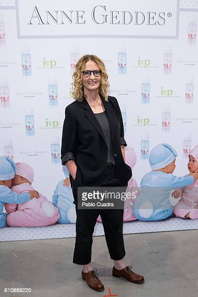 Australian photographer Anne Geddes presents 'Bebes Mamas' Fragrances at 'Espacio Las Aguas' on September 28 2016 in Madrid Spain
