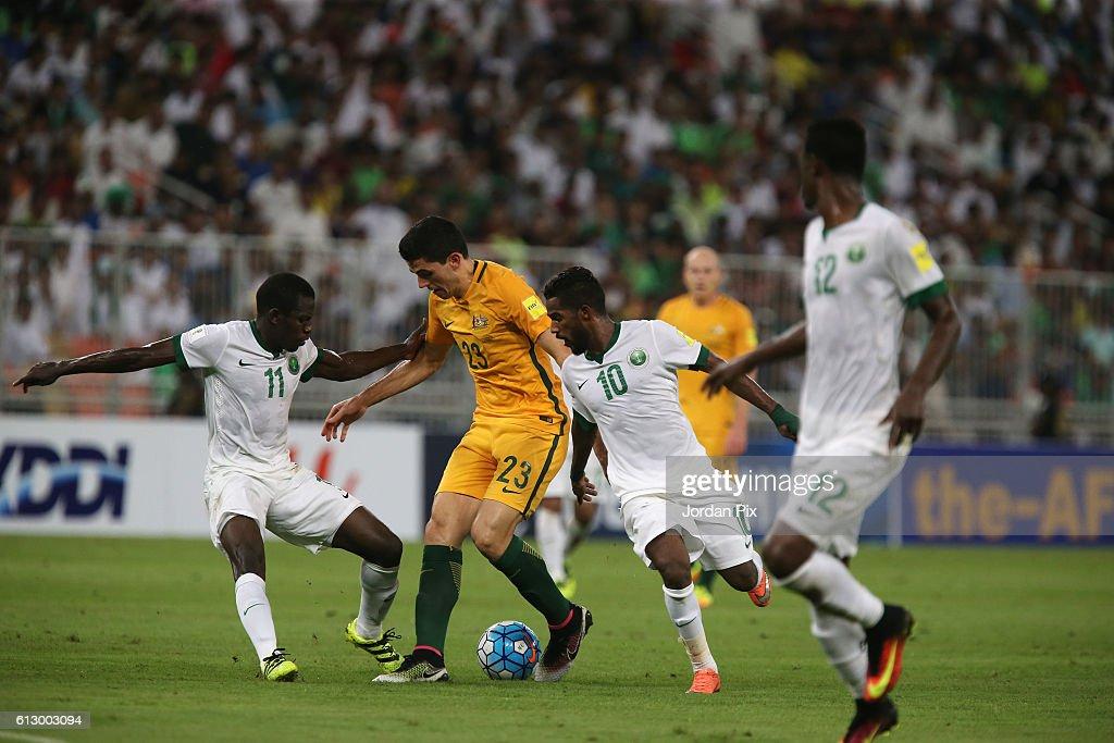 Saudi Arabia v Australia - 2018 FIFA World Cup Qualifier : News Photo