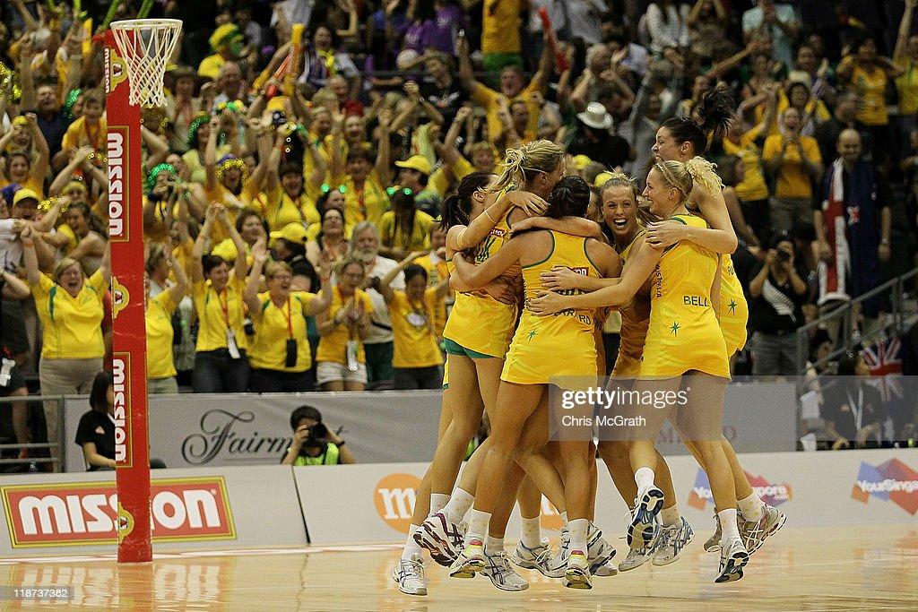 2011 World Netball Championships - Day 8 : News Photo