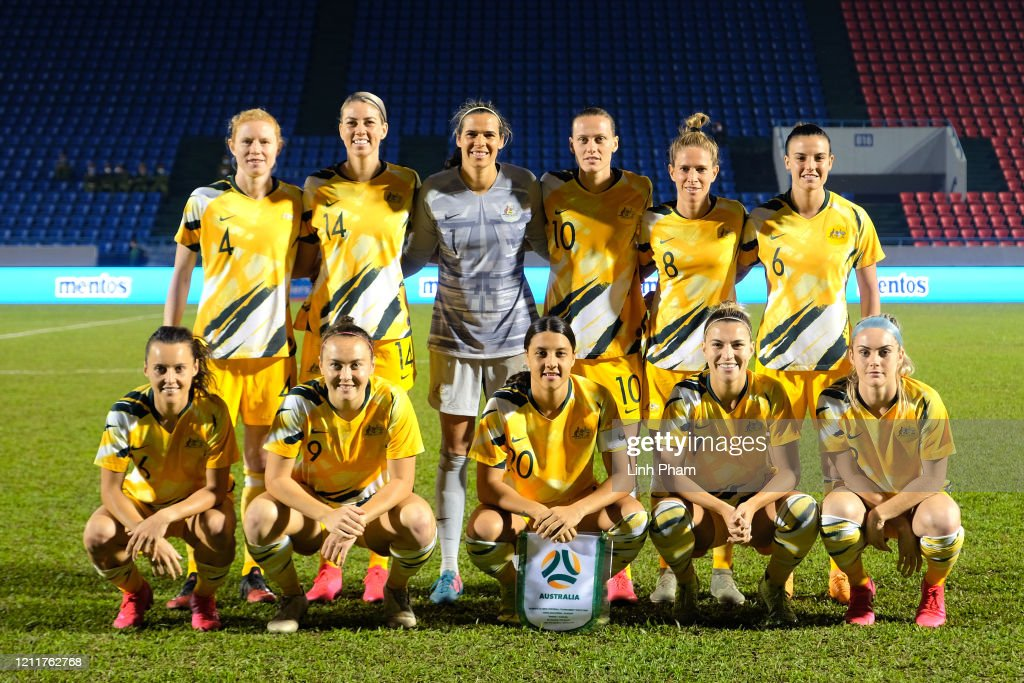 Vietnam v Australia - Women's Olympic Football Tournament Play-Off 2nd Leg : ニュース写真