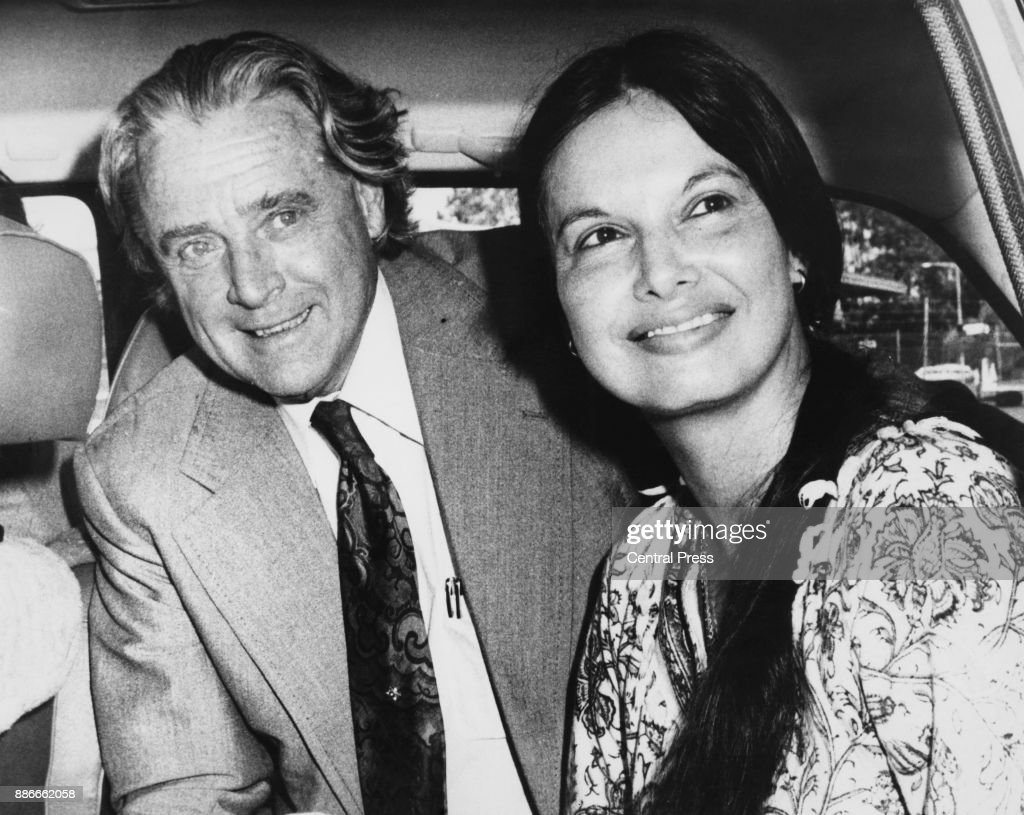 Australian politician Jim Cairns (1914 - 2003) with writer Junie Morosi in Perth, Australia, February 1976. The two were accused of having an affair, a supposition which Cairns confirmed much later.