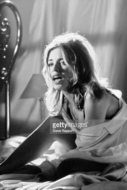Australian Pop singer and actress Kylie Minogue films her 'What Do I Have To Do' music video, 9/1/1990.