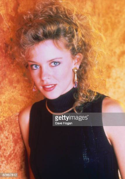 Australian pop singer Kylie Minogue December 1988