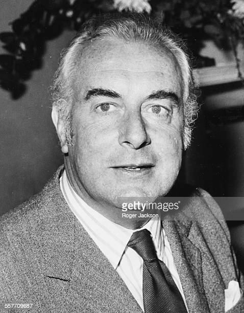 Australian Prime Minister Gough Whitlam arriving for an official visit in London April 21st1973