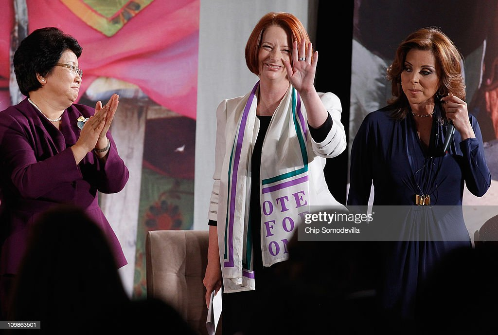 The First Lady And Hillary Clinton Hold The International Women of Courage Awards