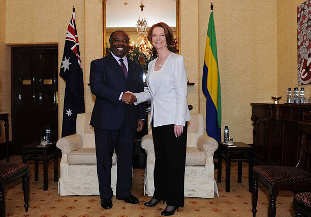 Gabonese president ali bongo ondimba visits australia photos and australian prime minister julia gillard welcomes his excellency ali bongo ondimba president of the gabonese sciox Gallery