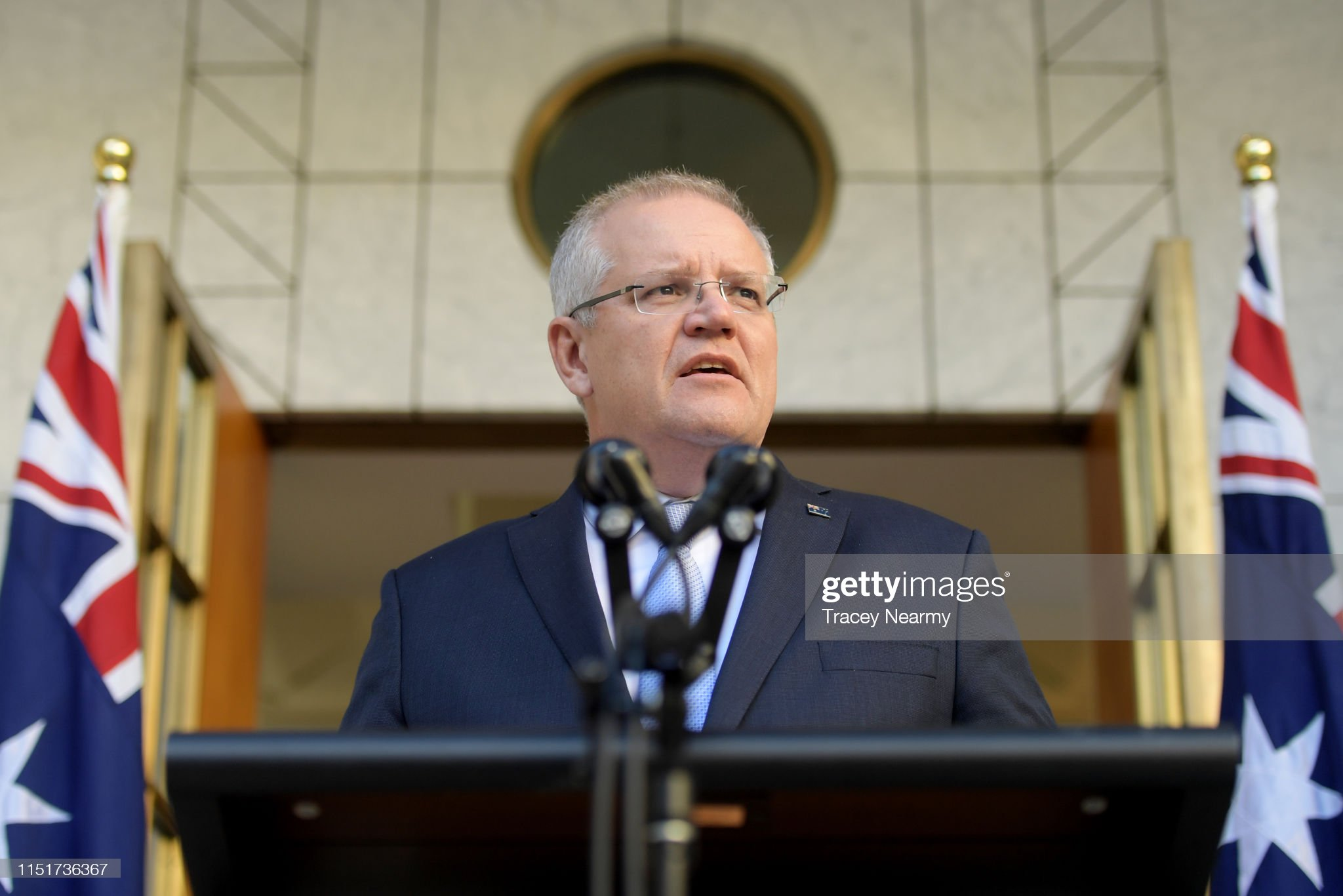 Prime Minister Scott Morrison Announces New Cabinet : News Photo