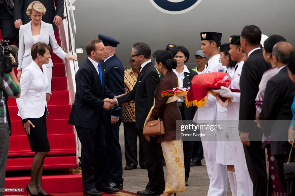 Prime Minister Tony Abbott Visits Indonesia - Day 1