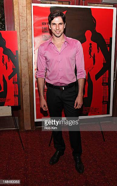 Australian professional golfer Jason Day attends the '30 Beats' New York Premiere at Village East Cinema on July 17 2012 in New York City