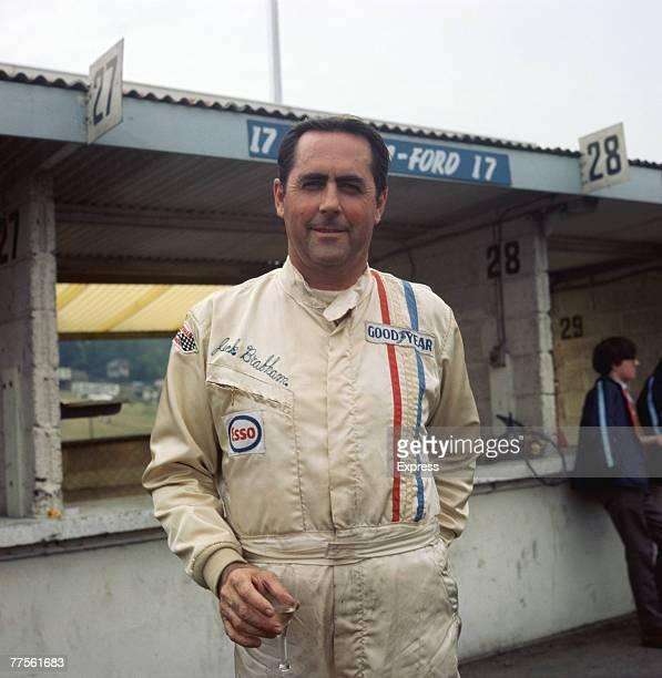 Australian racing driver Jack Brabham circa 1970