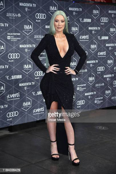 Australian rapper and songwriter Iggy Azalea attend the International Music Awards at Verti Music Hall on November 22 2019 in Berlin Germany