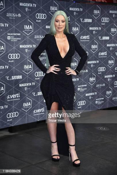 Australian rapper and songwriter Iggy Azalea attend the International Music Awards at Verti Music Hall on November 22, 2019 in Berlin, Germany.