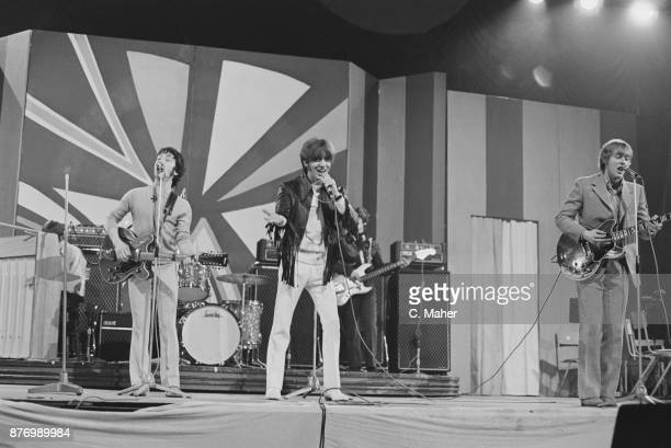 Australian rock band The Easybeats performing at the Daily Express Record Star Show UK 26th March 1968