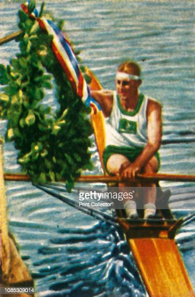 Australian rower Bobby Pearce wins the single sculls 1928 Pearce won gold medals at the 1928 Summer Olympics held in Amsterdam and at the 1932 Summer...
