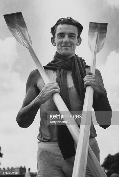 Australian rower Mervyn Wood gets ready for both the Henley Royal Regatta and the Summer Olympics at Henley-On-Thames, Oxfordshire, England, 27th...