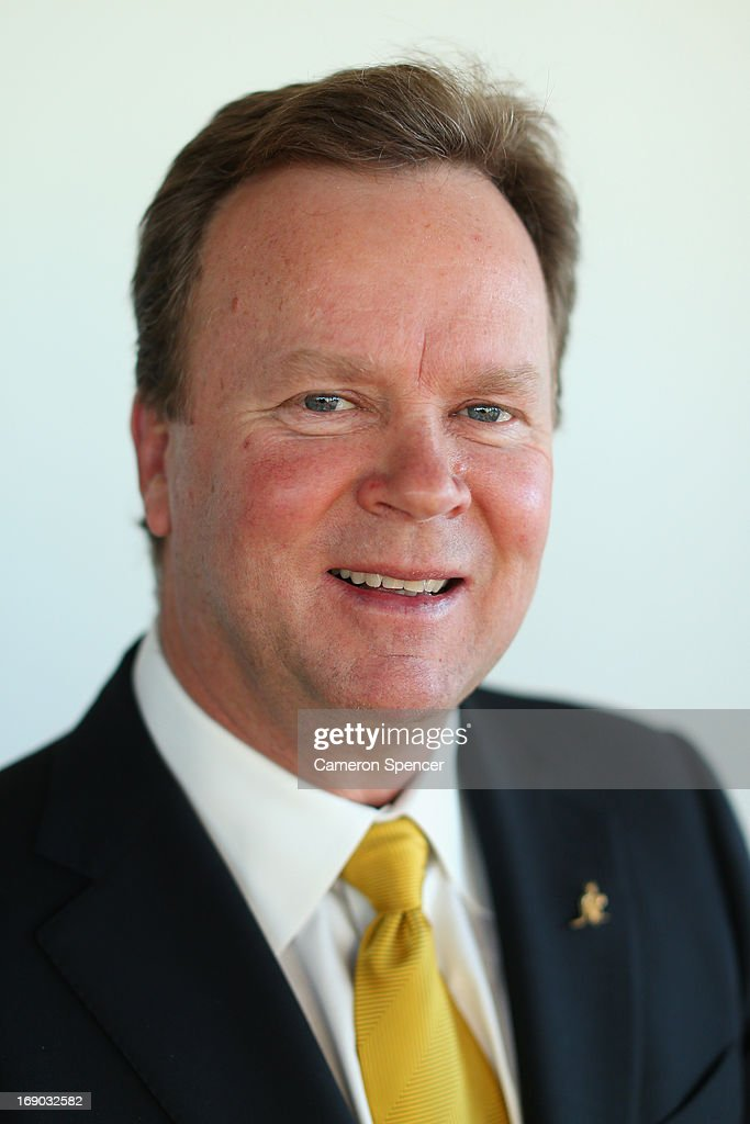 Australian Rugby CEO Bill Pulver poses for a portrait following an Australian Wallabies ARU press conference at Museum of Contemporary Art on May 19, 2013 in Sydney, Australia.