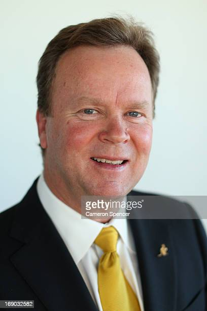 Australian Rugby CEO Bill Pulver poses for a portrait following an Australian Wallabies ARU press conference at Museum of Contemporary Art on May 19...