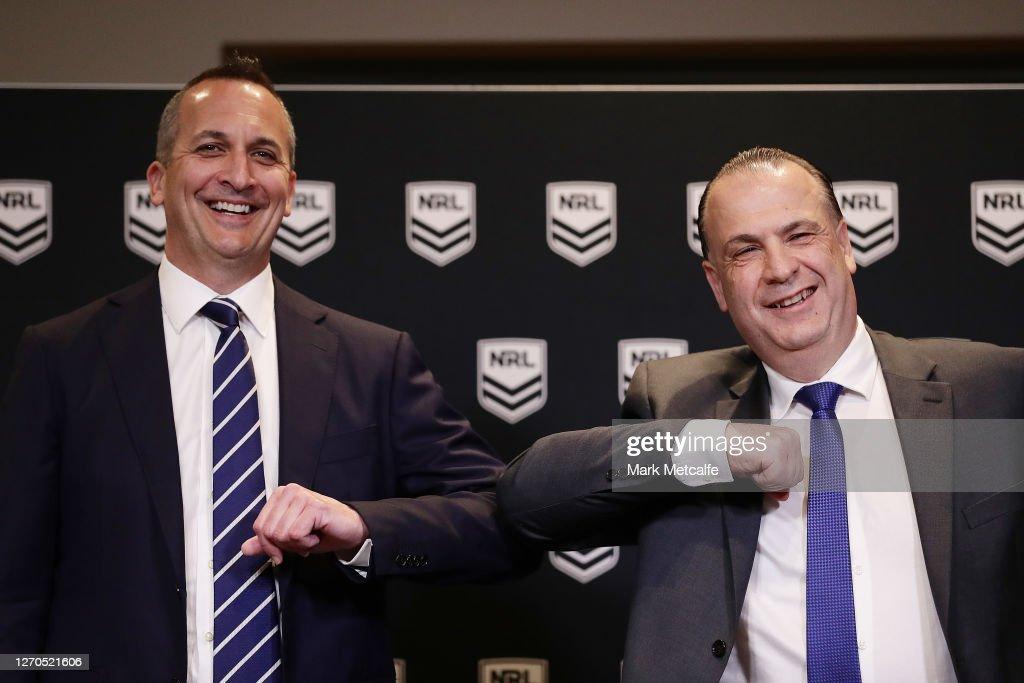 NRL Press Conference : News Photo