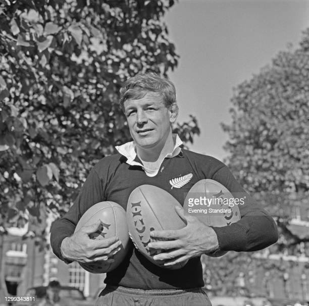 Australian rugby union player John Thornett , UK, October 1966.