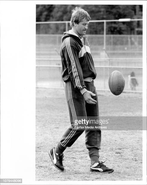 Australian Rugby Union training at Weigall Sports Ground Rushcutters Bay Coach Alan Jones was in good formSteve Williams August 17 1984