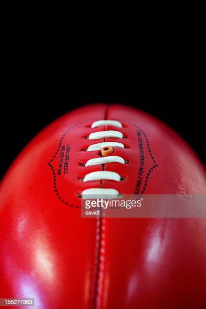 australian rules football afl ball - afl stock pictures, royalty-free photos & images