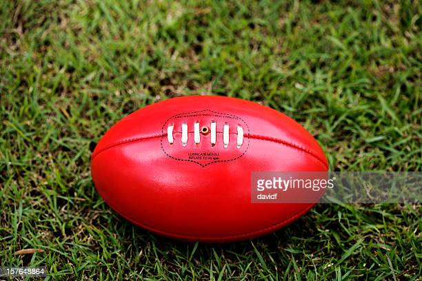 australian rules football - ball stock pictures, royalty-free photos & images