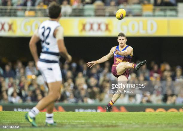 View of miscellaneous action during Geelong Cats vs Brisbane Lions at the Gabba Brisbane Australia 7/8/2017 Credit Erick W Rasco