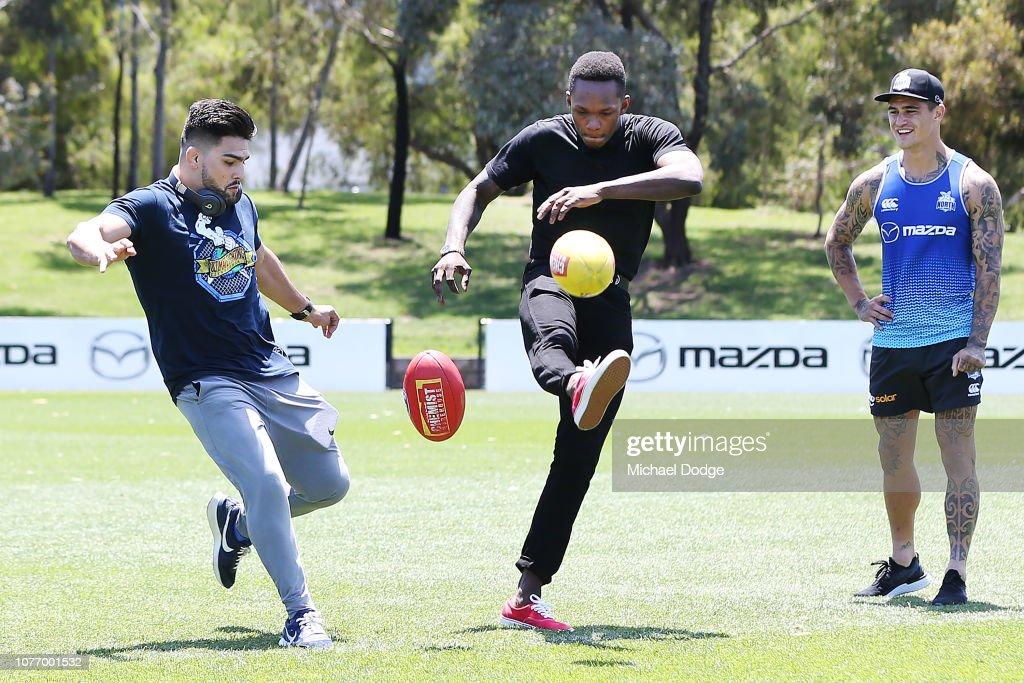 North Melbourne Kangaroos Media Opportunity : News Photo