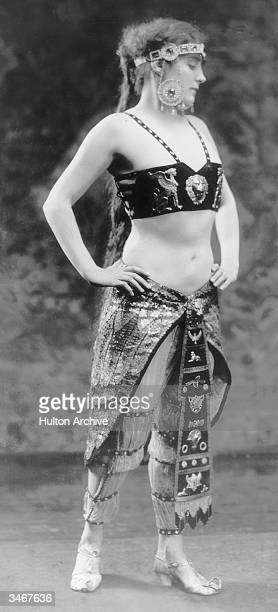 Australian silent film actress and swimming star Annette Kellerman in a publicity still for one of her films circa 1910
