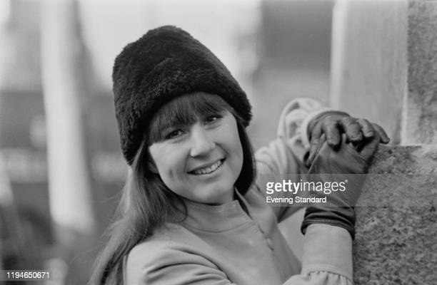Australian singer and musician Judith Durham of The Seekers, posed in London on 24th February 1971.