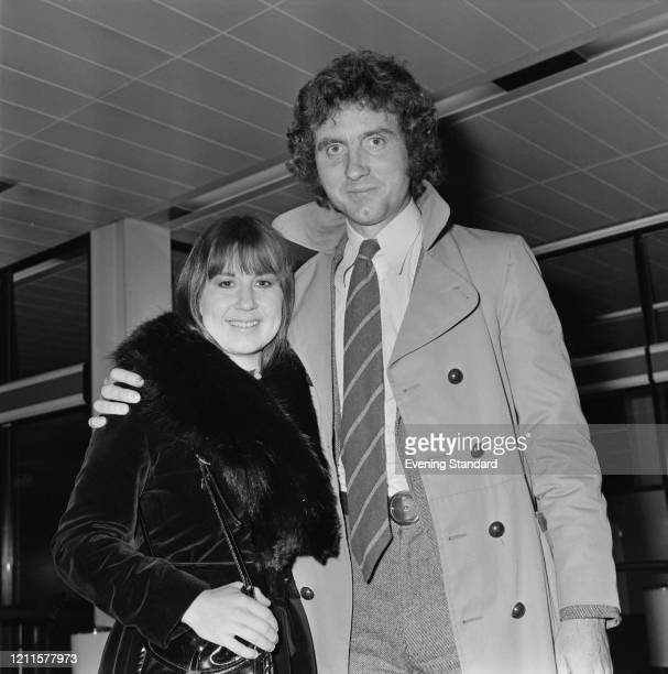 Australian singer and musician Judith Durham of The Seekers posed with her husband, British pianist Ron Edgeworth on 12th February 1971.