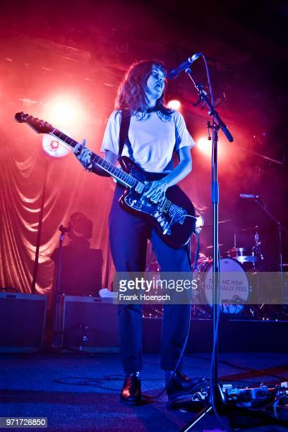 Australian singer Courtney Barnett performs live on stage during a concert at the Astra on June 11 2018 in Berlin Germany