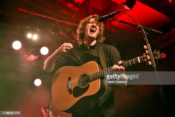 Australian singer Dean Lewis performs live on stage during a concert at the Astra on April 11 2019 in Berlin Germany