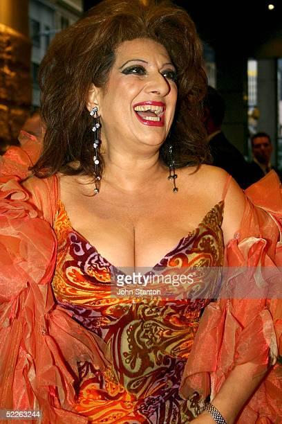 Australian singer Maria Venutti attends the Australian Red Cross 90th Anniversary Gala at the Westin Hotel March 2 2005 in Sydney Australia