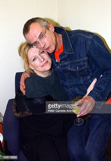 Australian singer Renee Geyer and musician Ross Hannaford after their performance at the North Bondi RSL on June 02 2002 in Sydney Australia