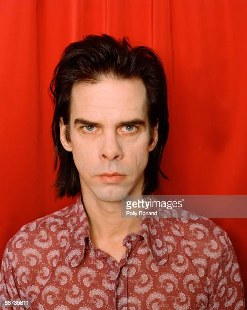 Australian singersongwriter and musician Nick Cave curator of the 1999 Meltdown music festival in London