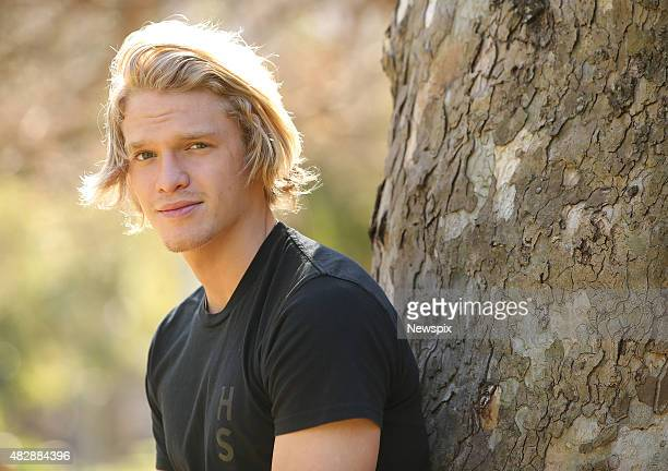 Australian singersongwriter Cody Simpson poses during a photo shoot in Sydney New South Wales