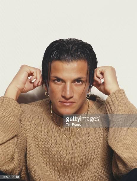 Australian singersongwriter Peter Andre circa 1995