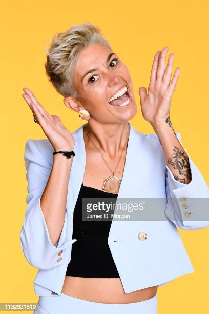 Australian soccer player Michelle Heyman poses for a portrait at the 2019 Australian LGBTI Awards at The Star on March 01 2019 in Sydney Australia